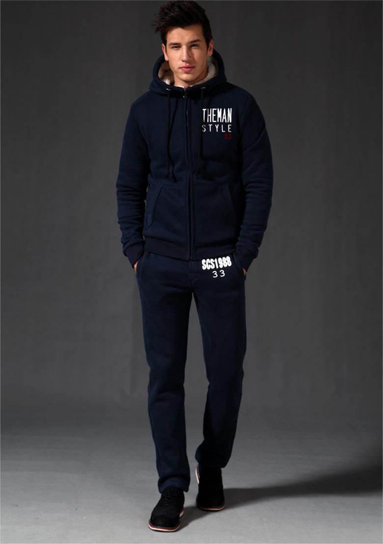 卫衣男_三乘三 2013冬季新款 男装 休闲卫衣 男 加绒加厚保暖