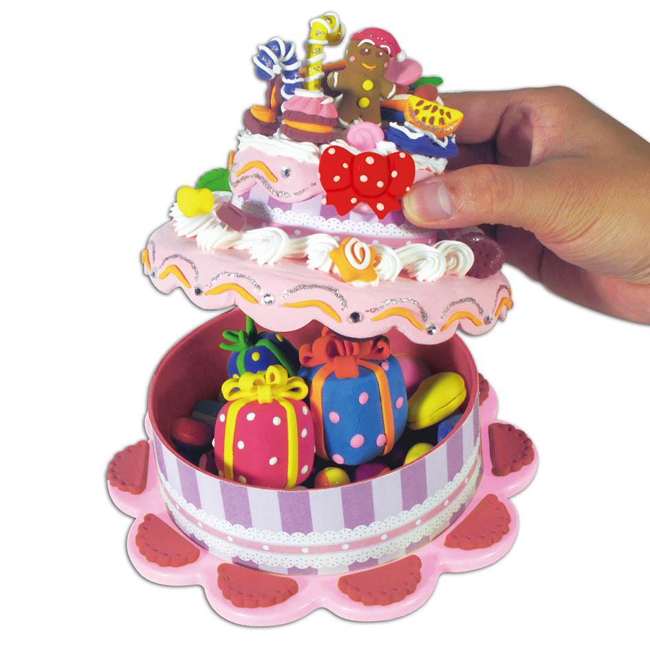 男女孩生日礼物 儿童diy蛋糕图片