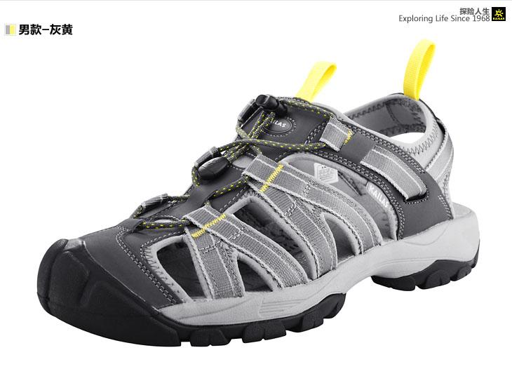 fab:包头凉鞋在户外运动中,能很好的保护脚面,适合峡谷穿越等