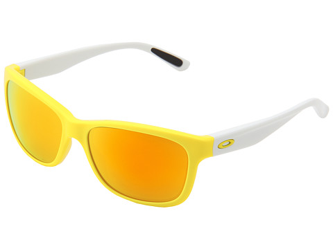 oakley gascan fire iridium  yellow w/ fire