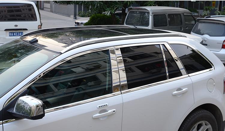 金利美 福特锐界行李架改装专用车顶旅行架 一体式免打孔安装 铝合金
