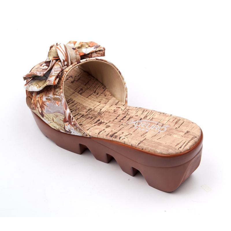 凉拖厚底松糕拖鞋