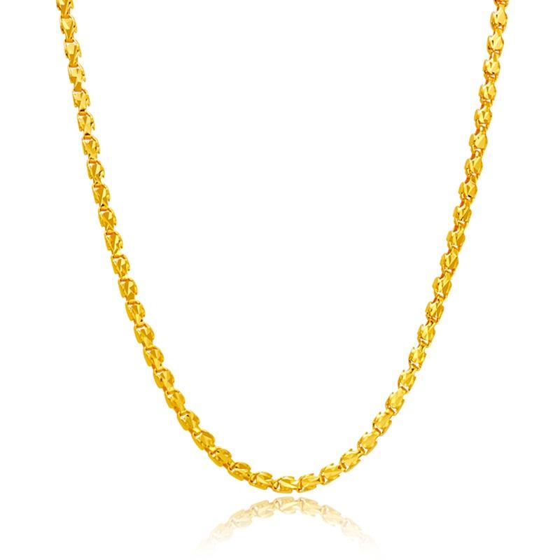 周大福黄金项链 周大福黄金项链款式 周大福黄金项链女款式