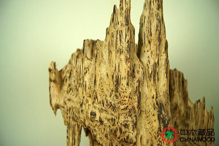 00 中木收藏品:印度小叶紫檀观世音菩萨木雕摆件 实物尺寸≈8*29*8cm
