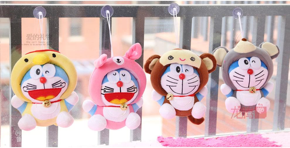许愿精灵十二生肖哆啦a梦叮当猫二代哆啦a梦卡通布娃娃毛绒玩具礼物