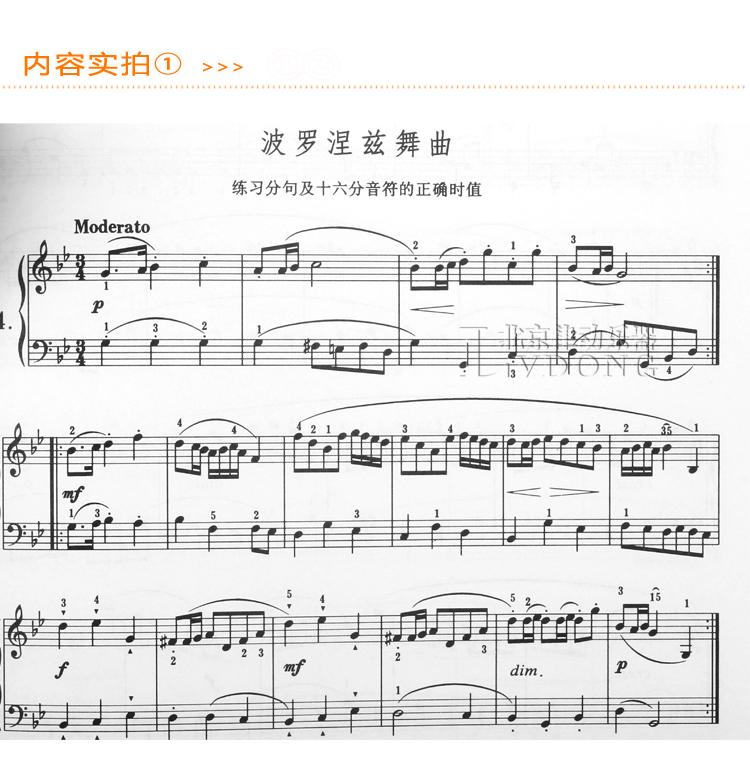 卡农名曲钢琴谱子