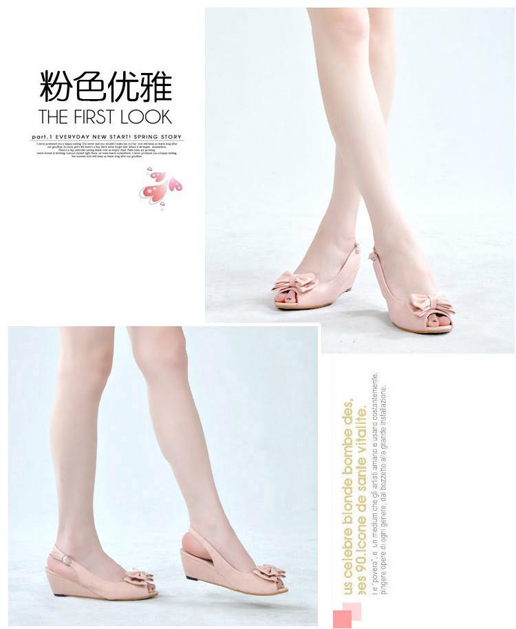 天木林2014新款凉鞋女鞋