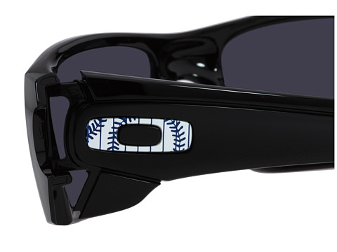 blue and orange oakley sunglasses  branded fuel cell