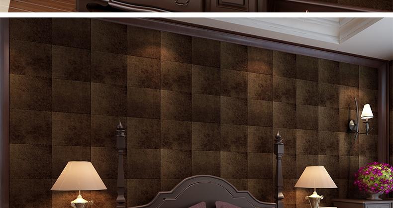 格林威尔 卧室沙发电视背景墙壁纸图片