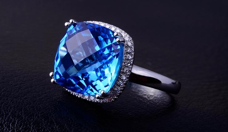 梅花水晶戒指编法