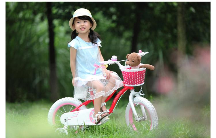 儿童 女孩 自行车/优贝儿童自行车12寸14寸16寸星女孩童车单车天蓝色 12寸