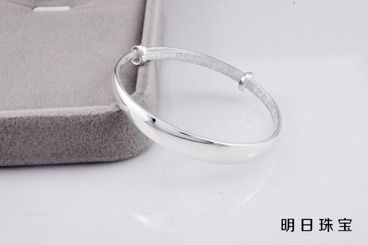 宝宝手镯 s999足银