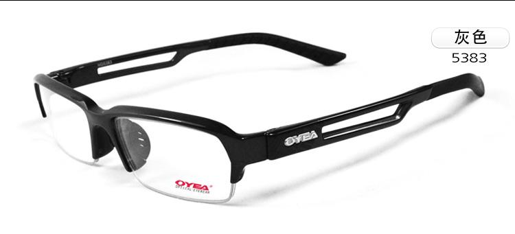 2014欧野oyeatr90眼镜架男士近视镜 超轻运动近视眼镜眼睛框男半框平图片