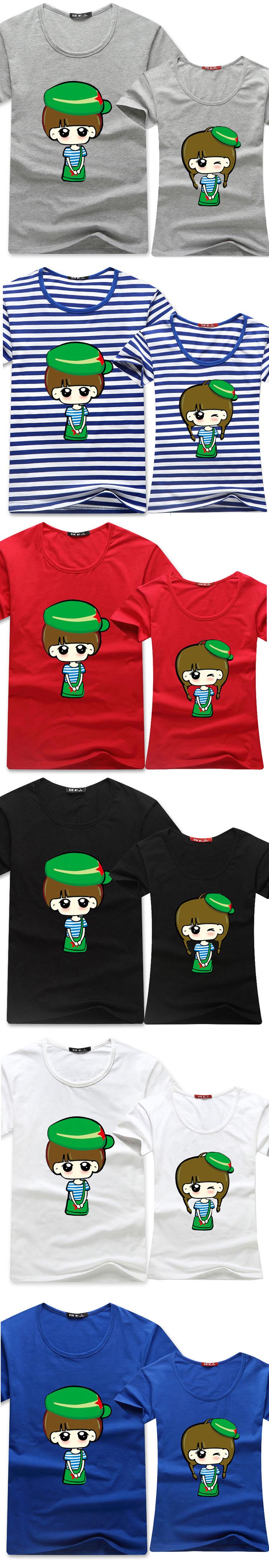 豪畔服饰 2014夏装新款韩版时尚休闲短袖t恤 夏季卡通