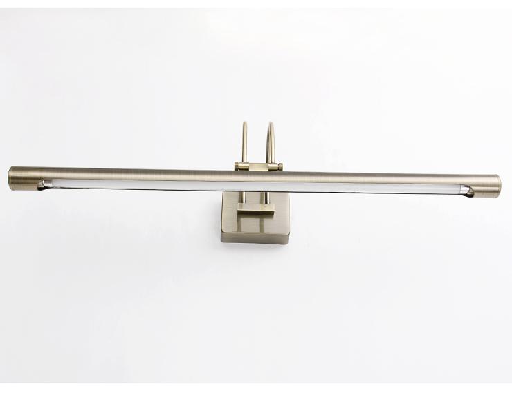 欧式复古简约浴室节能灯管镜前灯壁灯