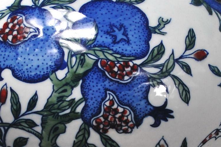 青花瓷花瓶 名家手绘