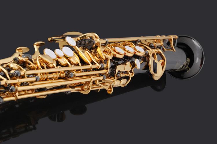 【威柏尔萨克斯】高音萨克斯风 k20hn 降b 黄铜黑镍原色珍珠按扣全身