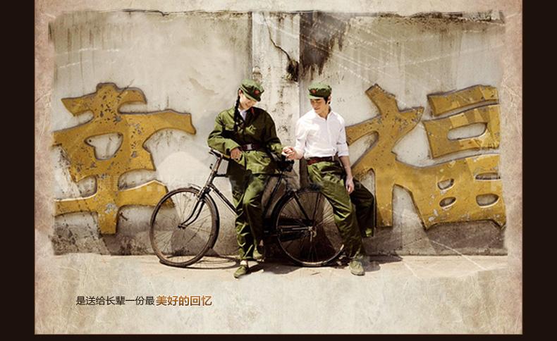 式自行车 70年代80年代老品杆闸车 怀旧风情自行车 送父母长辈的最