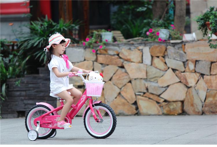 优贝儿童自行车14寸16寸18寸美人鱼女孩单车宝宝童车