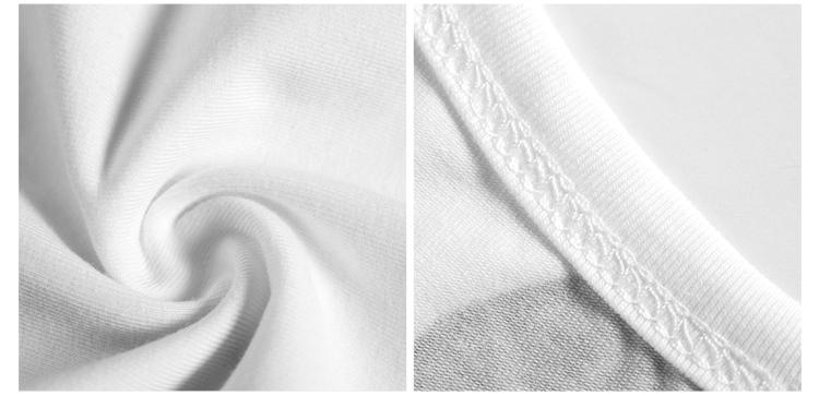 abcde2014韩版女装毛笔画水墨印花圆领纯棉宽松短袖t恤打底衫夏潮