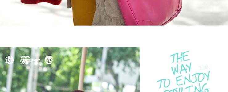 aspensport艾奔女包包2013夏季新款韩版女士单肩包斜