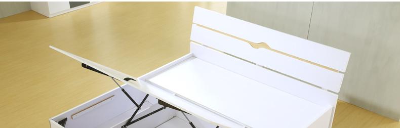 主材质            床头板:e1中纤板(三聚氰胺板);漆黄色木纹