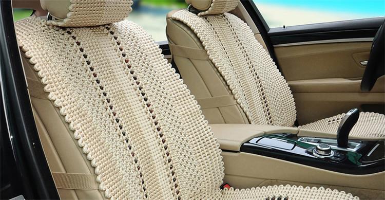 圣恩亚 汽车坐垫夏手工编织冰丝座垫雪佛兰雪铁龙马自达荣威斯柯达 一