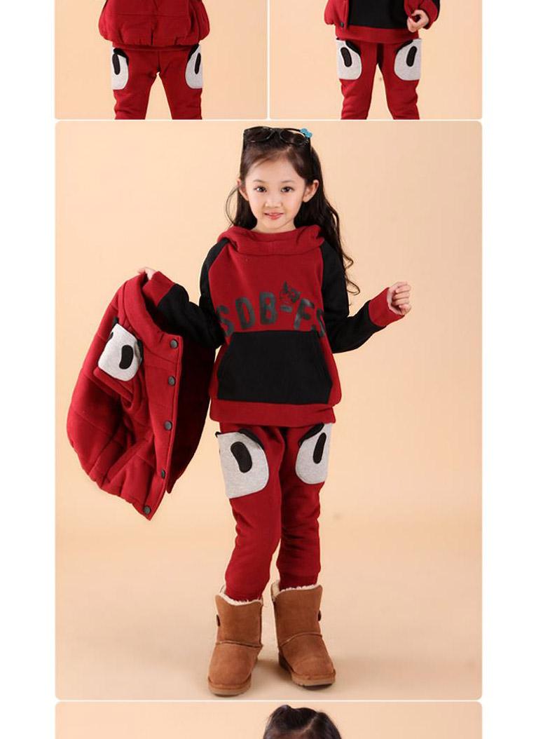 大童运动服儿童卫衣三件套