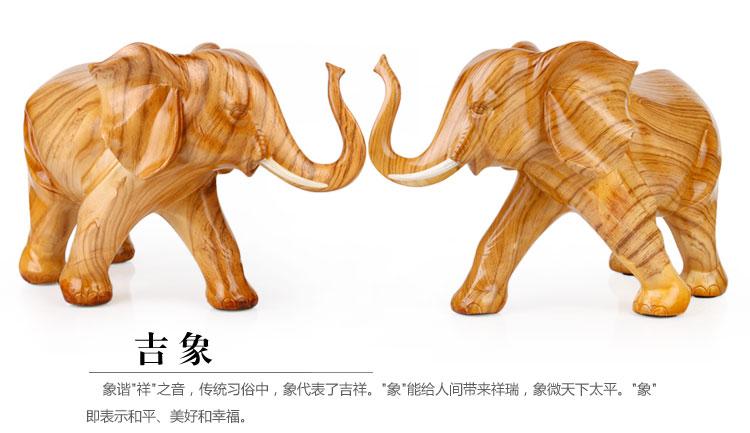 大象摆件放家什么位置
