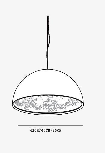 欧式餐桌手绘线稿