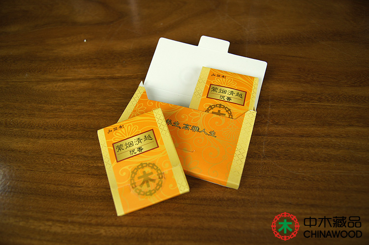 沉香条黄盒 沉香枝 沉香木棍