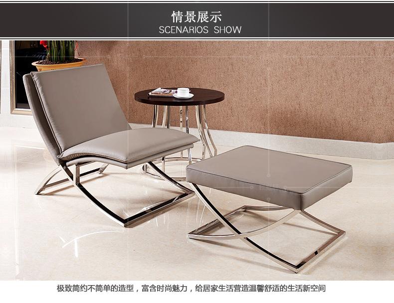 钰庭轩家具 不锈钢换鞋凳 简约穿鞋凳 现代试鞋凳 时尚沙发凳 创意皮