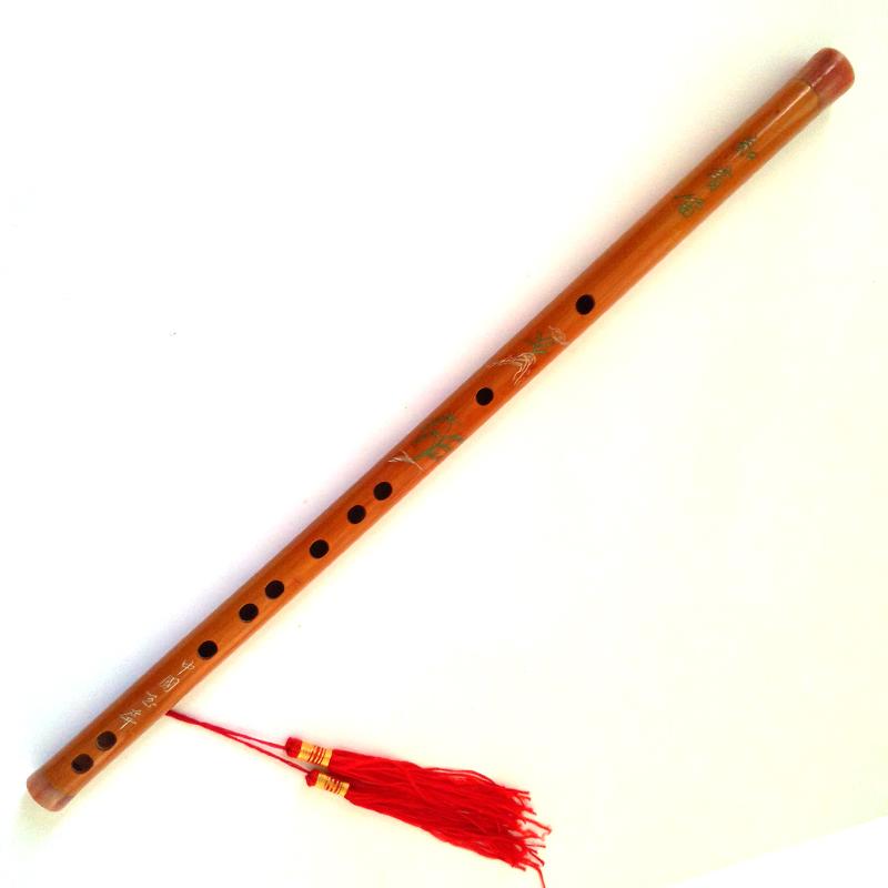 六孔青花瓷笛系列图片