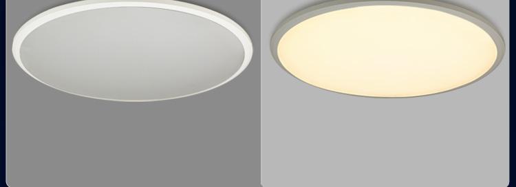 耐特森 简约超薄led吸顶灯卧室灯房间灯 可调光调色多档位智能遥控 x8