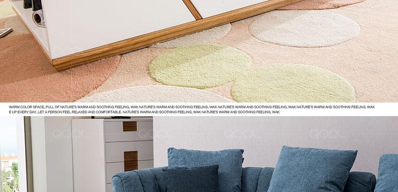 歌珥 亮光烤漆面板 原生态木纹搭配组合多功能茶几 免