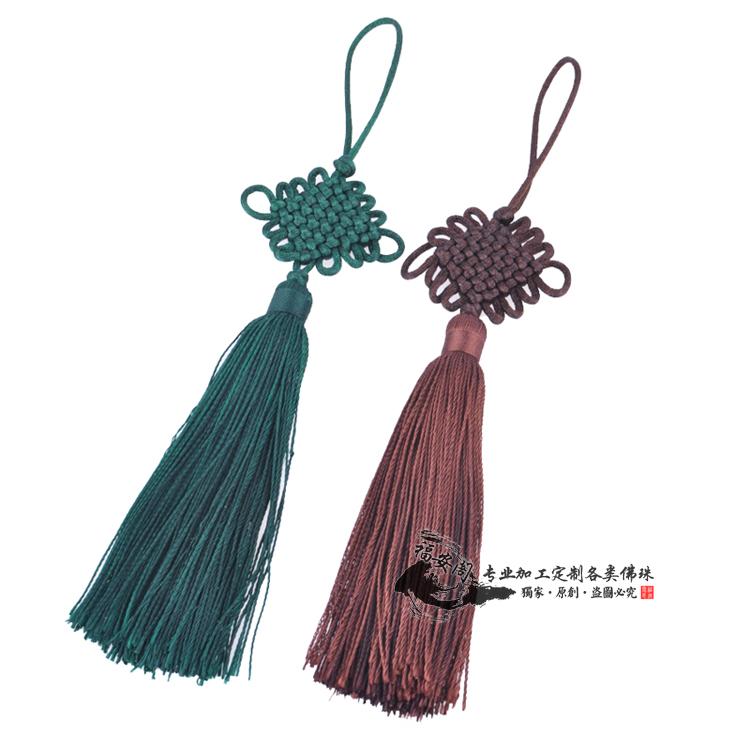 车挂珠子编织图