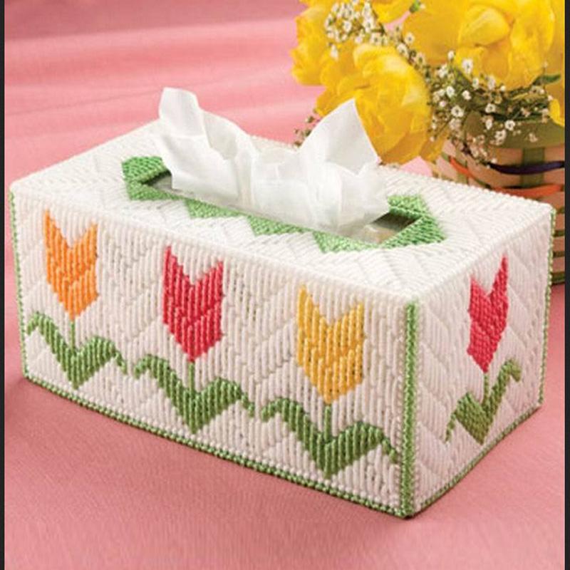 立体手工制作纸巾盒