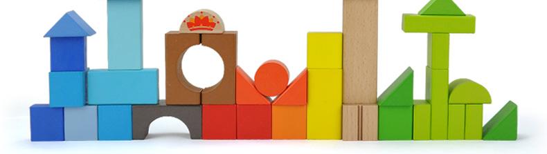 积木方块矢量图