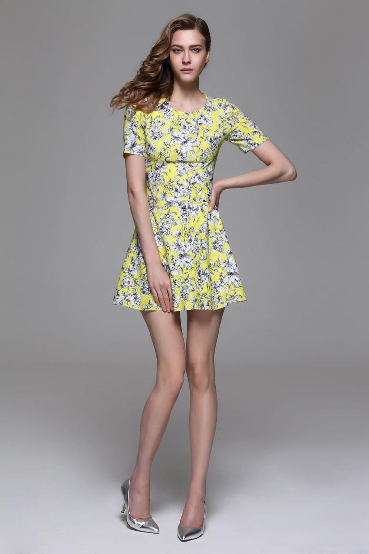 风格: 知性干练 优雅简约. 款式: x收腰连衣裙.图片