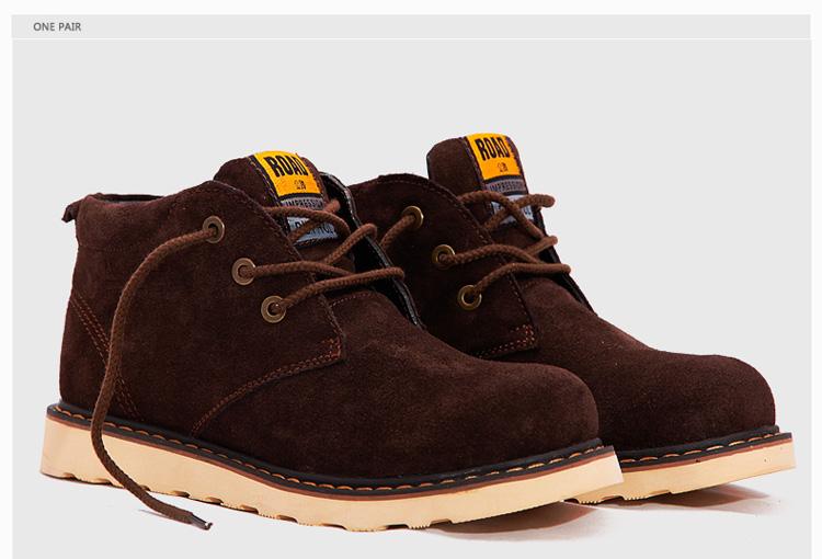 欧美潮流高帮工装靴马丁靴