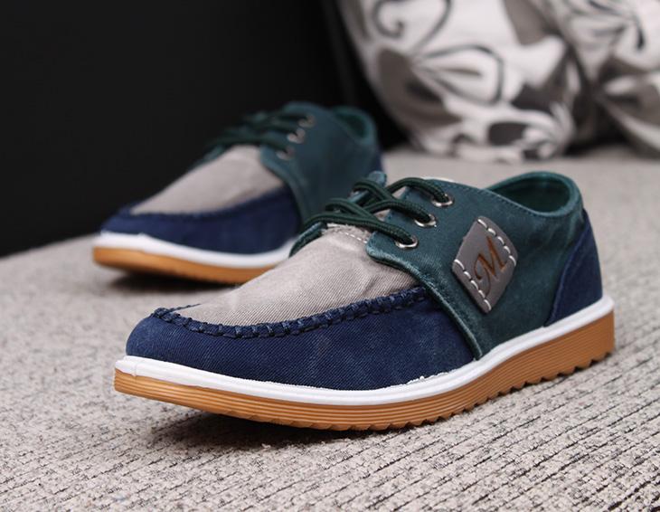 2014新款男休闲布鞋 男布鞋2014新款帆布