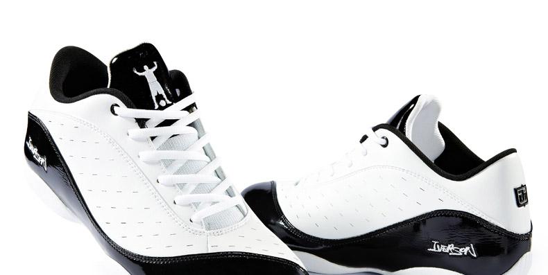 艾弗森iverson 新款〓穿花蝴蝶步〓男子篮球鞋