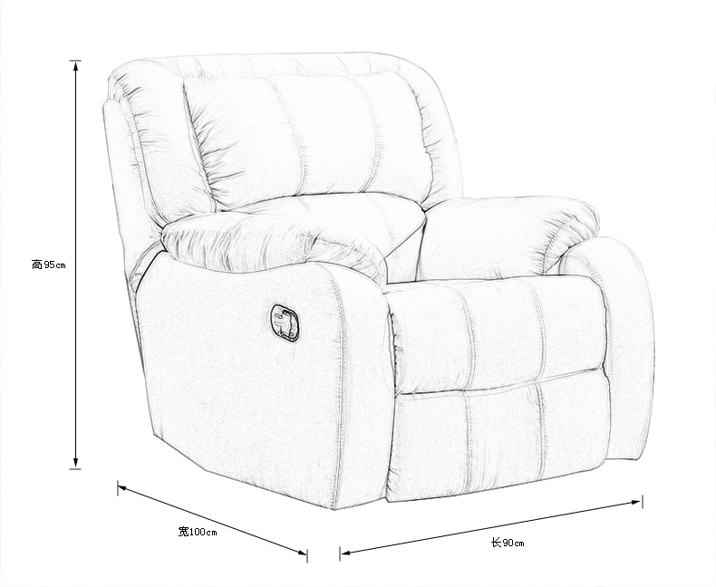 多功能沙发设计图手绘