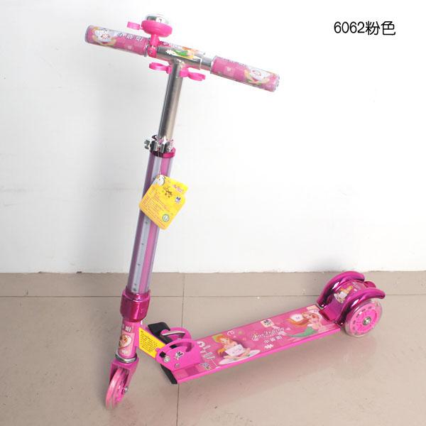2013新款全铝儿童三轮滑板车