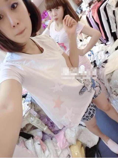 奥靓2014新款时尚可爱卡通亮片米奇宽松百搭短袖t恤6209# 白色 l