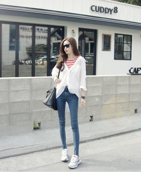 2013新款韩国高腰显瘦提臀