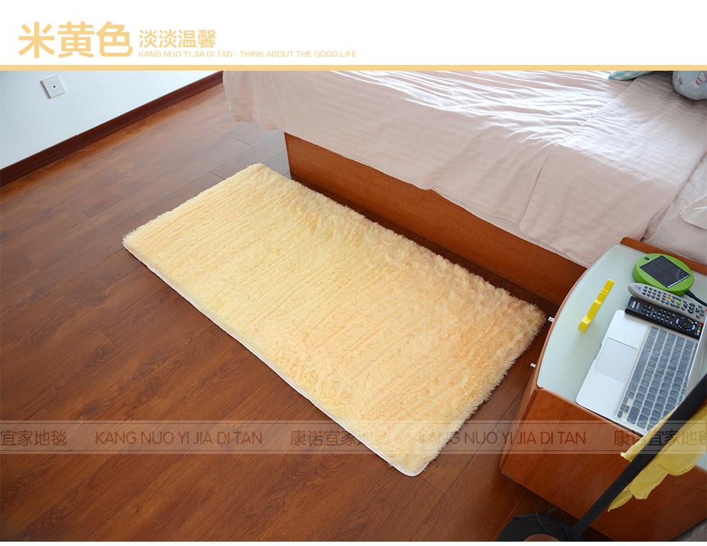 丝毛地毯 客厅卧室茶几办公欧式加厚丝毛地毯地垫 无异味不掉毛 紫色4
