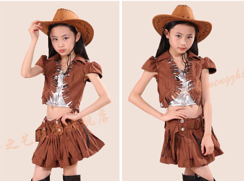 西部牛仔服装设计图