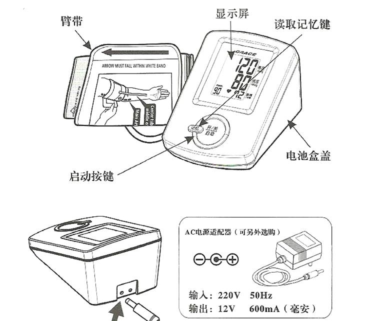 全自动 臂式血压计
