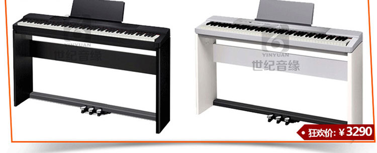 00 森博格(supug) sp-88标准88键高档数码钢琴 儿童电钢琴 经典黑图片